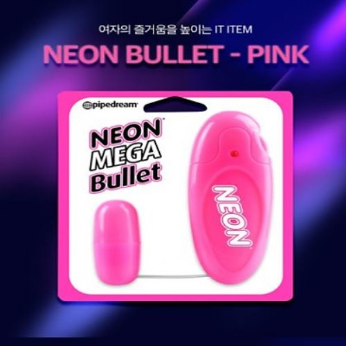 "pd263711Neon Luv Touch Neon Bullet Pink""에그형진동기""a"